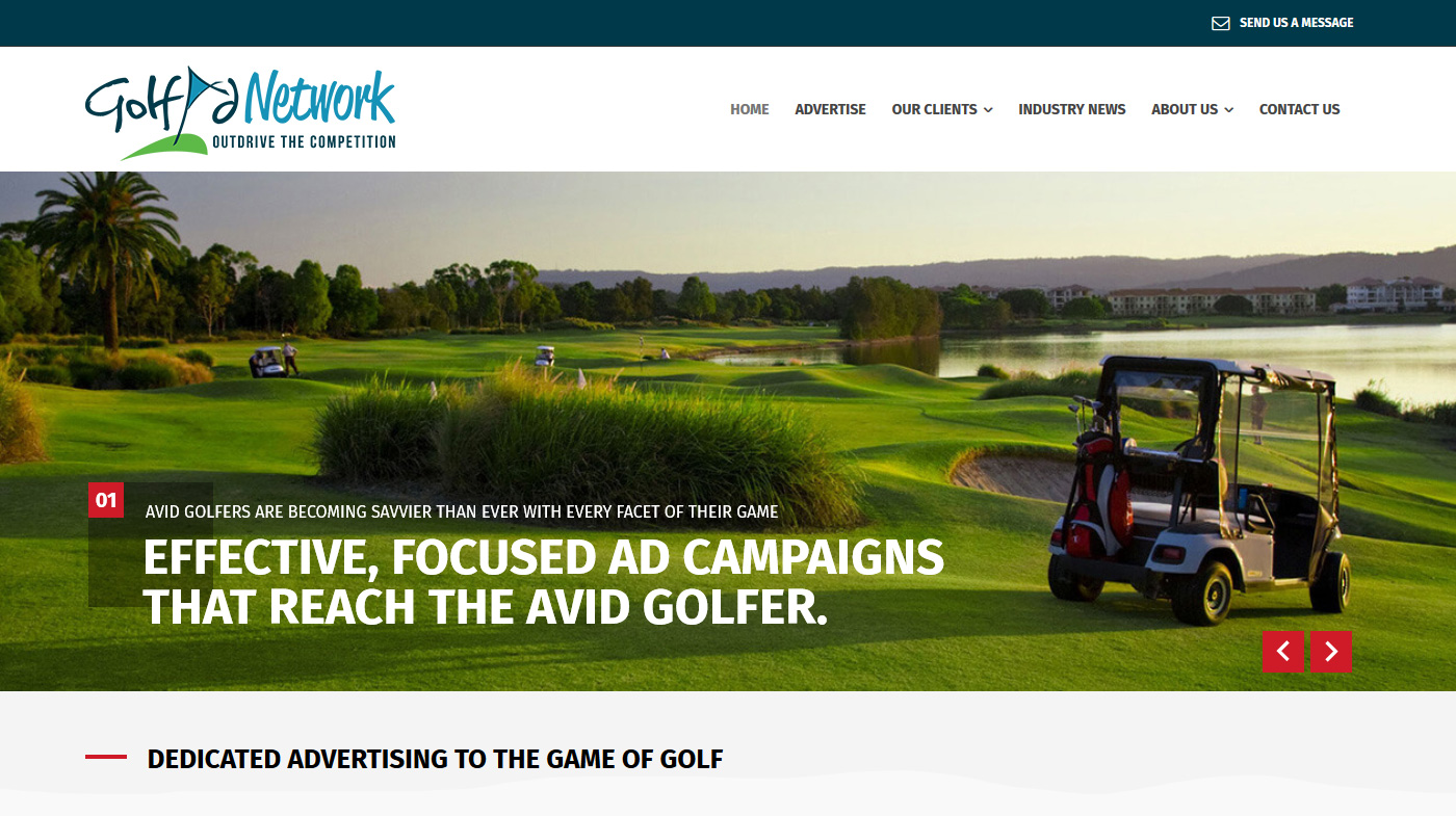 Golf-Ad-Network